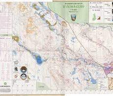 Pyhä-Luosto-Jukola 1994 kartat